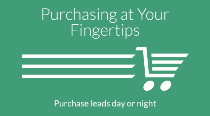 Purchasing Leads at Your Fingertips